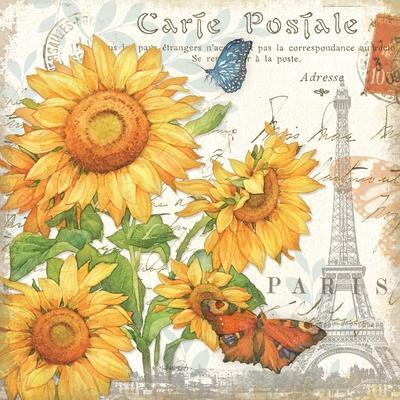 Carte Postale Sunflowers II