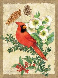 Holiday Cardinal by Julie Paton