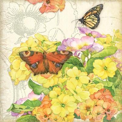 Primrose & Butterflies