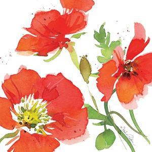 Red Poppies I by Julie Paton