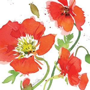 Red Poppies II by Julie Paton