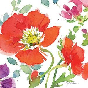 Red Poppies III by Julie Paton