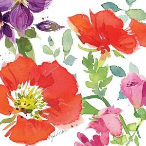 Red Poppies IV by Julie Paton