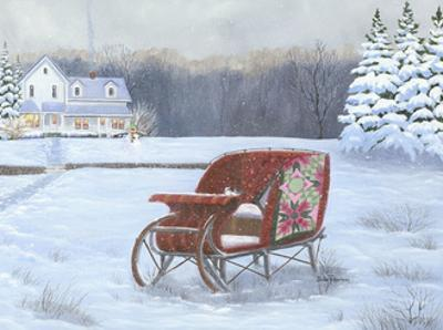 Christmas Sleigh by Julie Peterson