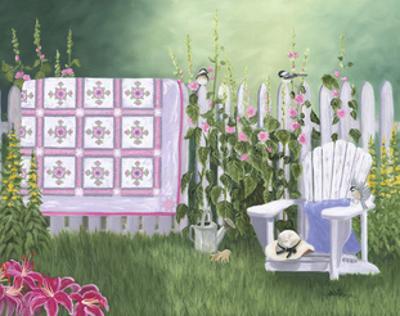 Floral Sunburst Quilt by Julie Peterson