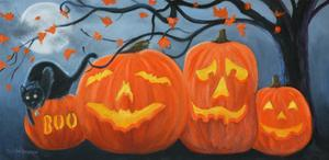 Halloween Pumpkins by Julie Peterson