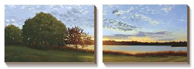 Lakeside Sunrise by Julie Peterson