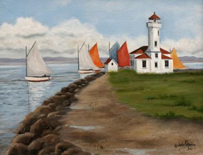 Wooden Boat Race by Julie Peterson