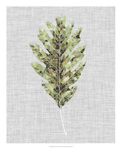 Falling Leaf Mosaic I by Julie Silver