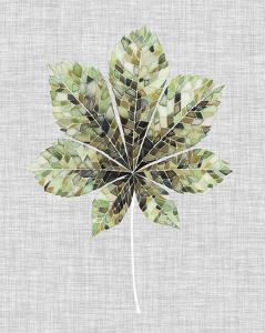 Falling Leaf Mosaic IV by Julie Silver