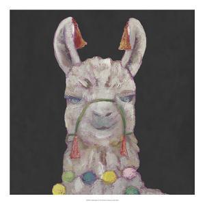 Noble Llama I by Julie Silver