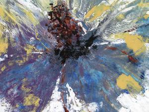 Purple Splash I by Julie Silver