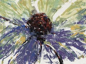 Purple Splash II by Julie Silver