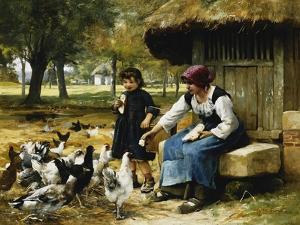 Feeding Time by Julien Dupre