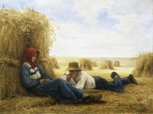 Harvest Time, 1878 by Julien Dupre