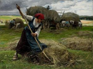 Haying Scene, 1884 by Julien Dupre
