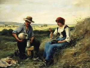 The Midday Repast by Julien Dupre