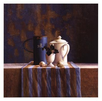 Striped Still Life I