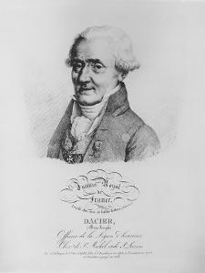 Bon-Joseph Dacier by Julien Leopold Boilly