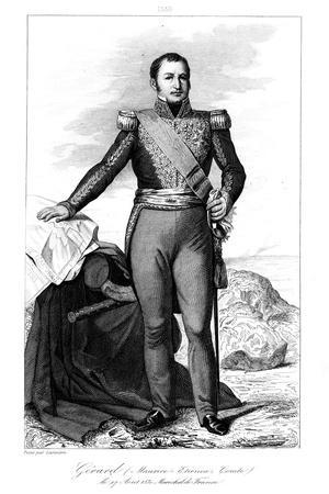 Etienne Maurice Gerard (1773-185), French General and Statesman, 1839