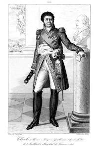 Henri Jacques-Guillaume Clarke (1765-181), Duc De Feltre and Marshal of France, 1839 by Julien Leopold Boilly