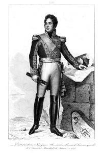 Jacques Alexandre Bernard (1768-182), Marquis De Lauriston, 1839 by Julien Leopold Boilly