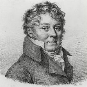 Joseph E. Jouy by Julien Leopold Boilly