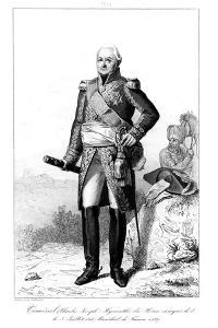 Joseph Hyacinthe (1734-182), Marquis De Viomenil and Marshal of France, 1839 by Julien Leopold Boilly