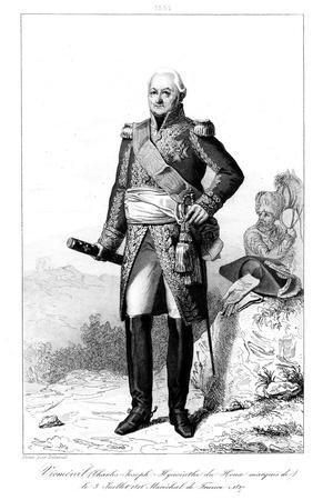 Joseph Hyacinthe (1734-182), Marquis De Viomenil and Marshal of France, 1839