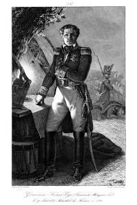 Laurent Gouvion Saint-Cyr (1764-183), Marshal of France, 1839 by Julien Leopold Boilly