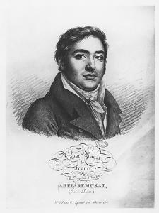 Portrait of Abel Rémusat by Julien Leopold Boilly