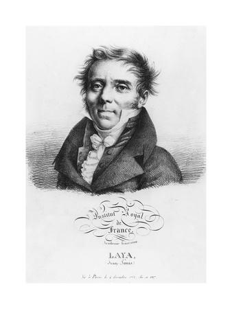 Portrait of Jean-Louis Laya