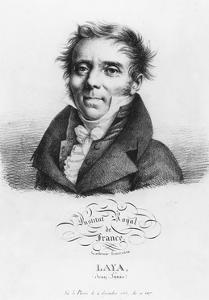 Portrait of Jean-Louis Laya by Julien Leopold Boilly