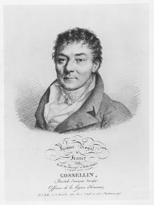 Portrait of Pascal Joseph François Gosselin, 1821 by Julien Leopold Boilly