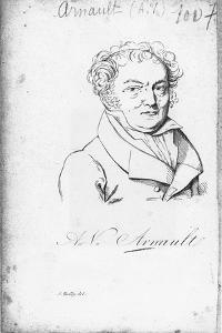 Vincent Antoine Arnault by Julien Leopold Boilly