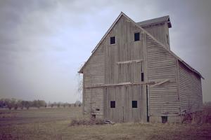 Abandoned Wooden Barn, Joliet, Illinois Route 66 by Julien McRoberts