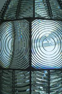 Fire Island, New York. Close Up of the Antique Fresnel Lighthouse Beacon by Julien McRoberts