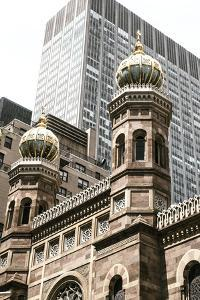 Historic Central Synagogue, Nyc, New York, USA by Julien McRoberts