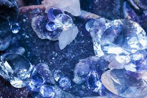 New York City, Ny Beautiful Gems and Crystals on Display by Julien McRoberts