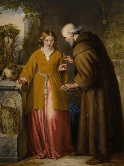 Juliet and the Friar 'Take Thou This Phial'-William James Grant-Giclee Print