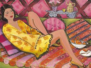 Kimono in Yellow by Juliette McGill