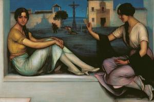 Fortune-Telling by Julio Romero de Torres