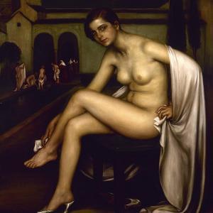 Nude by Julio Romero de Torres