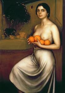 Oranges and Lemons by Julio Romero de Torres