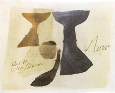 26.6.61 Moro, c.1961 by Julius Bissier