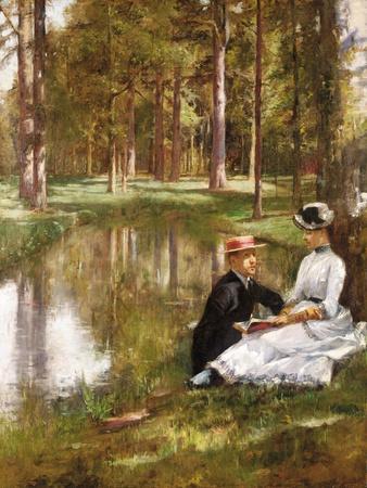 Die Lektüre (La Lecture). 1884