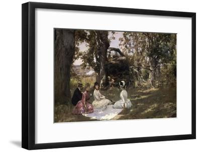 Picnic under the Trees, 1896