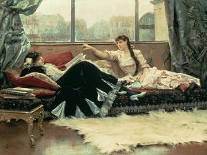 Sarah Bernhardt by Julius Leblanc Stewart