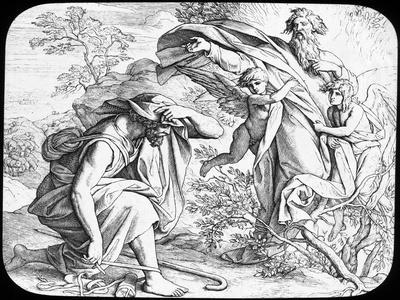 Moses and the Burning Bush, 19th Century