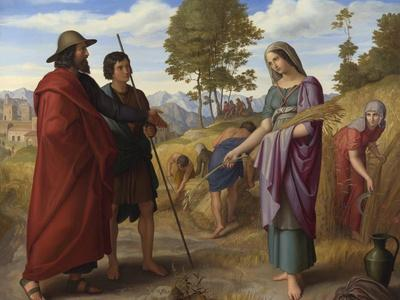 Ruth in Boaz's Field, 1828